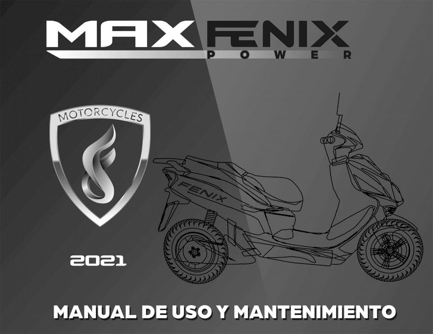 MANUAL MOTOS ELECTRICAS FENIX